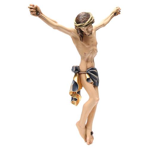 Cuerpo de Cristo 60 cm fibra de vidrio pintada 3