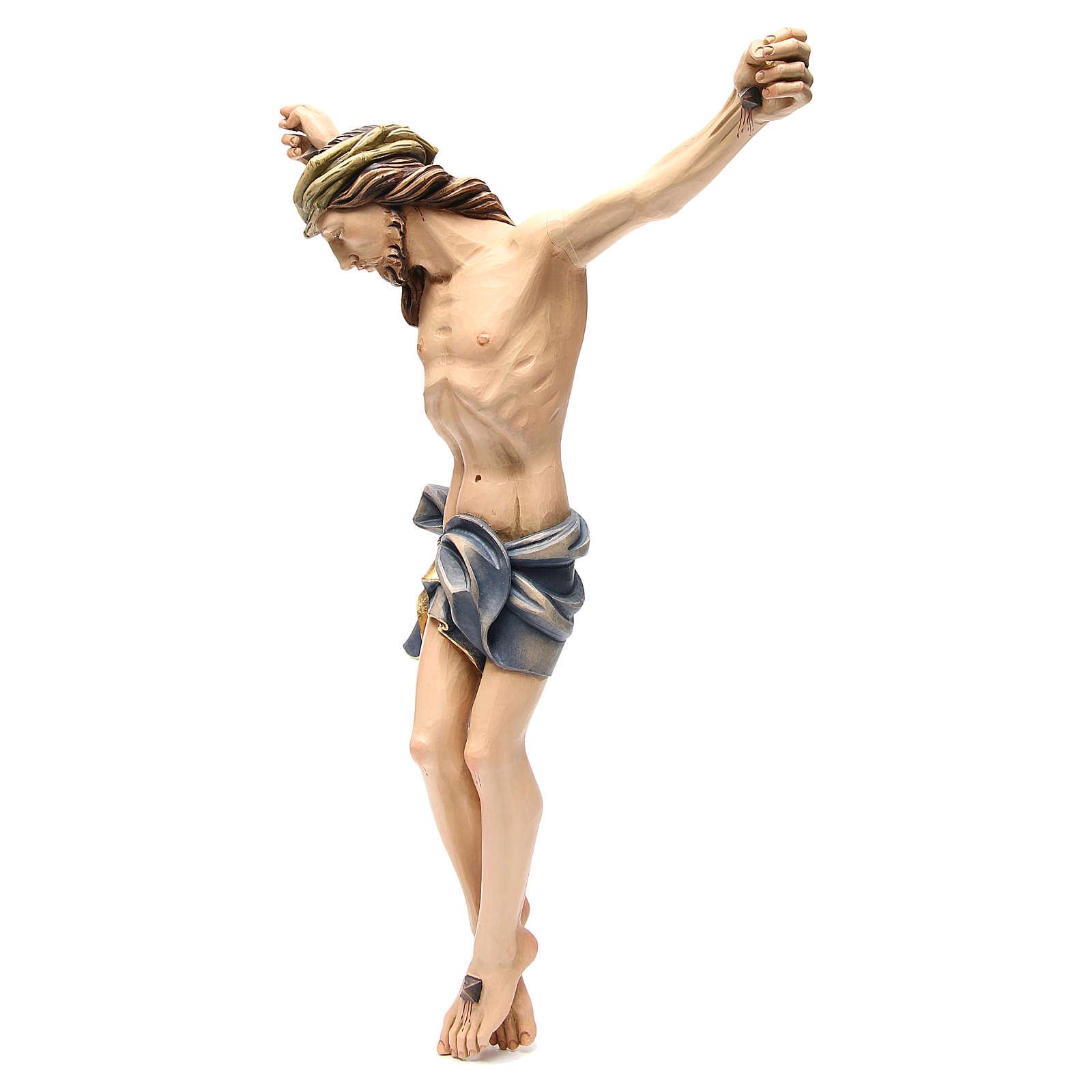 Corps du Christ 60 cm fibre de verre colorée 4