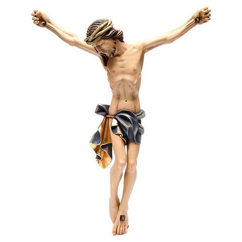 Corps du Christ 60 cm fibre de verre colorée 1