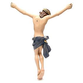 Corpo di Cristo 60 cm vetroresina colorata s4