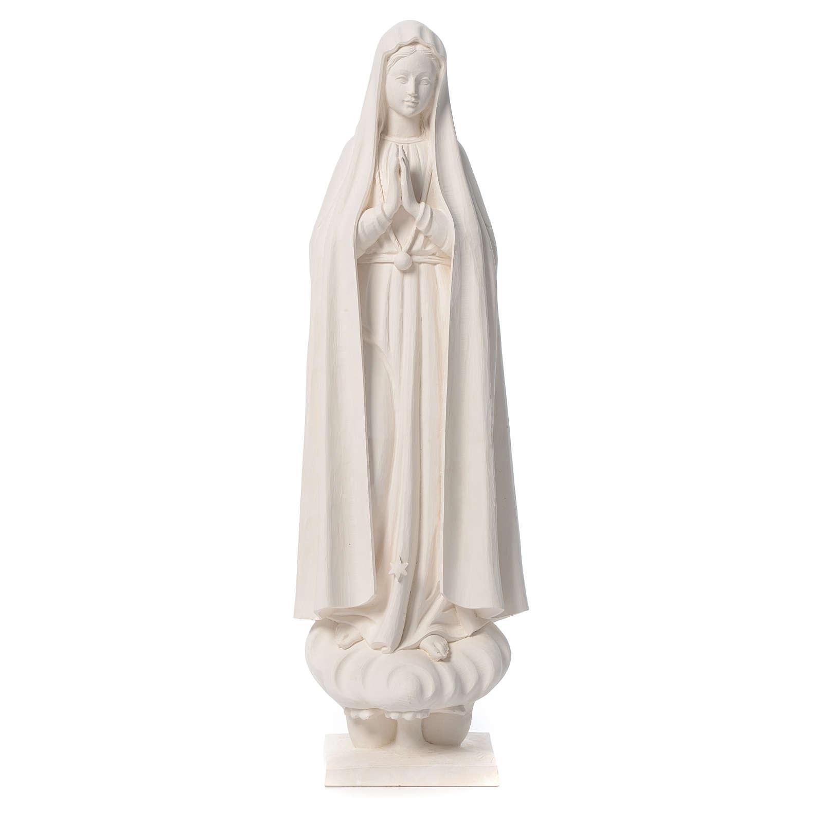Madonna di Fatima 60 cm fiberglass naturale 4