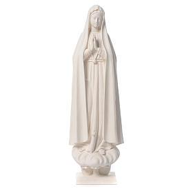 Madonna di Fatima 60 cm fiberglass naturale s1