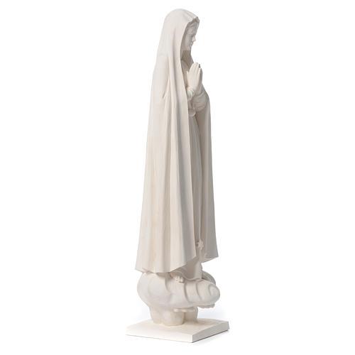 Our Lady of Fatima 60 cm in natural fiberglass 4
