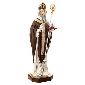 San Nicola di Bari 170 cm vetroresina dipinta s3