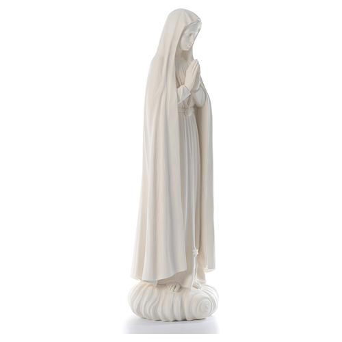 Madonna di Fatima 100 cm fibra di vetro naturale Valgardena 3