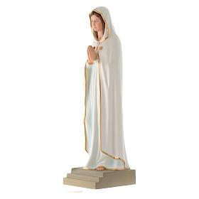 Statua Madonna della Rosa Mistica 70 cm vetroresina s2