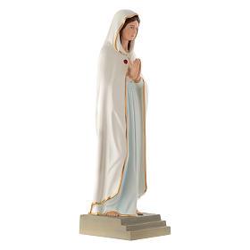 Statua Madonna della Rosa Mistica 70 cm vetroresina s3