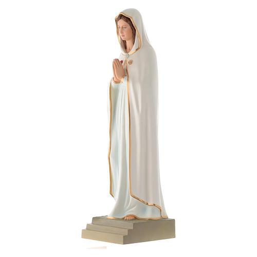 Statua Madonna della Rosa Mistica 70 cm vetroresina 2