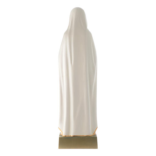 Statua Madonna della Rosa Mistica 70 cm vetroresina 4