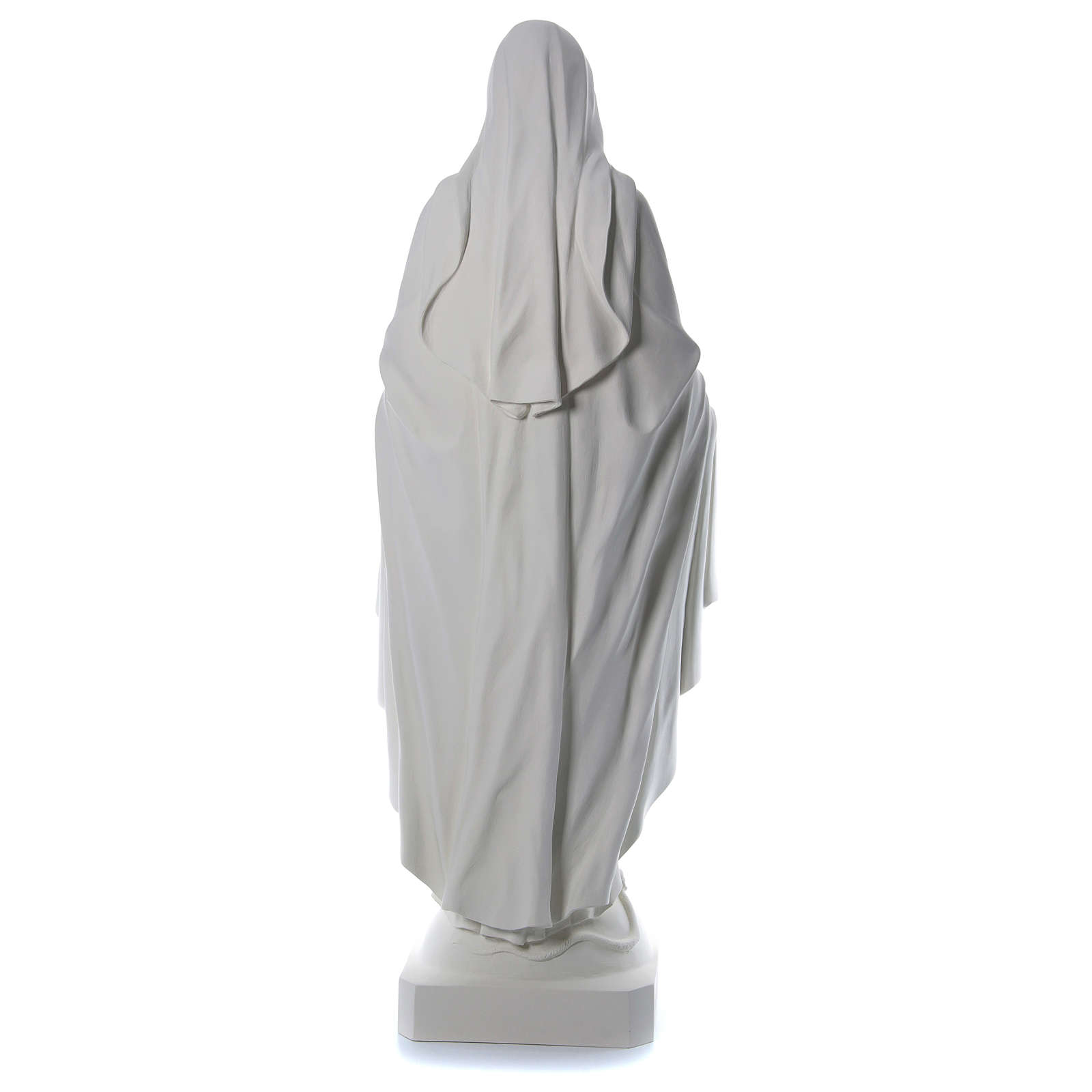 Immacolata 180 cm vetroresina bianca 4