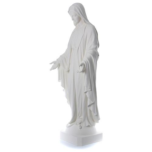 Immacolata 180 cm vetroresina bianca 3