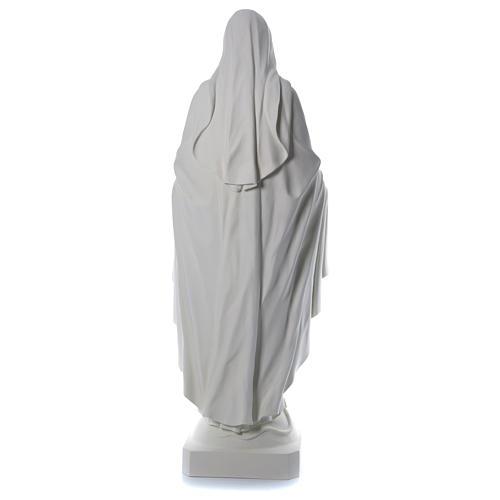 Immacolata 180 cm vetroresina bianca 5