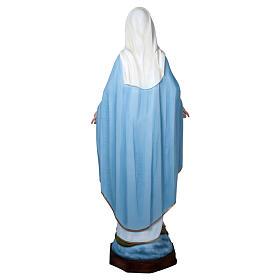 Estatua Virgen Milagrosa 160 cm fibra de vidrio PARA EXTERIOR s5