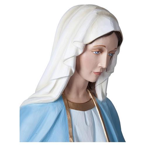Estatua Virgen Milagrosa 160 cm fibra de vidrio PARA EXTERIOR 9