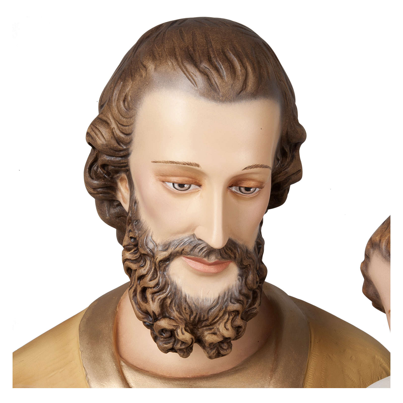 Statua San Giuseppe con Bambino 160 cm vetroresina PER ESTERNO 4