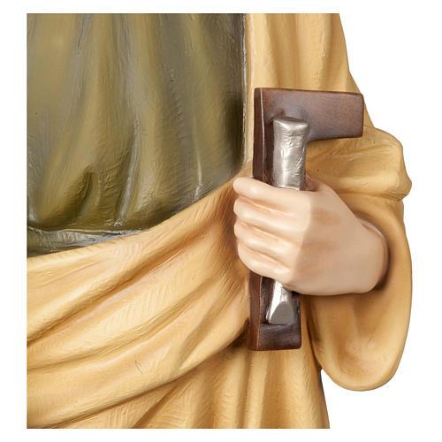Statua San Giuseppe lavoratore 100 cm vetroresina PER ESTERNO 3