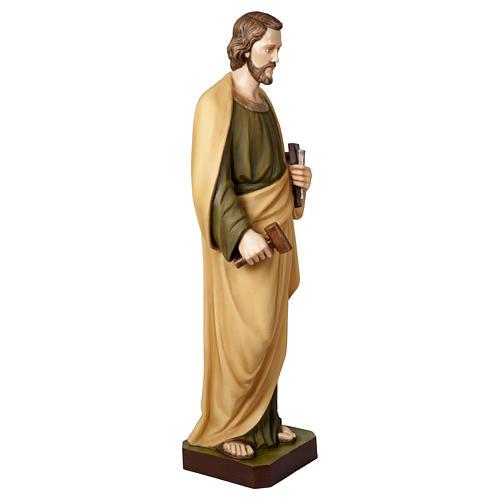 Statua San Giuseppe lavoratore 100 cm vetroresina PER ESTERNO 6
