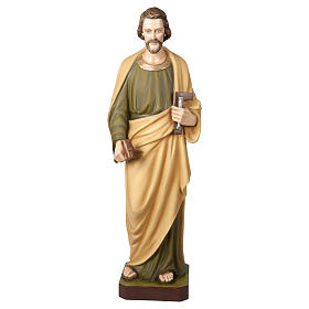 Fiberglass Statue St Joseph Working 100 cm for OUTDOORS s1