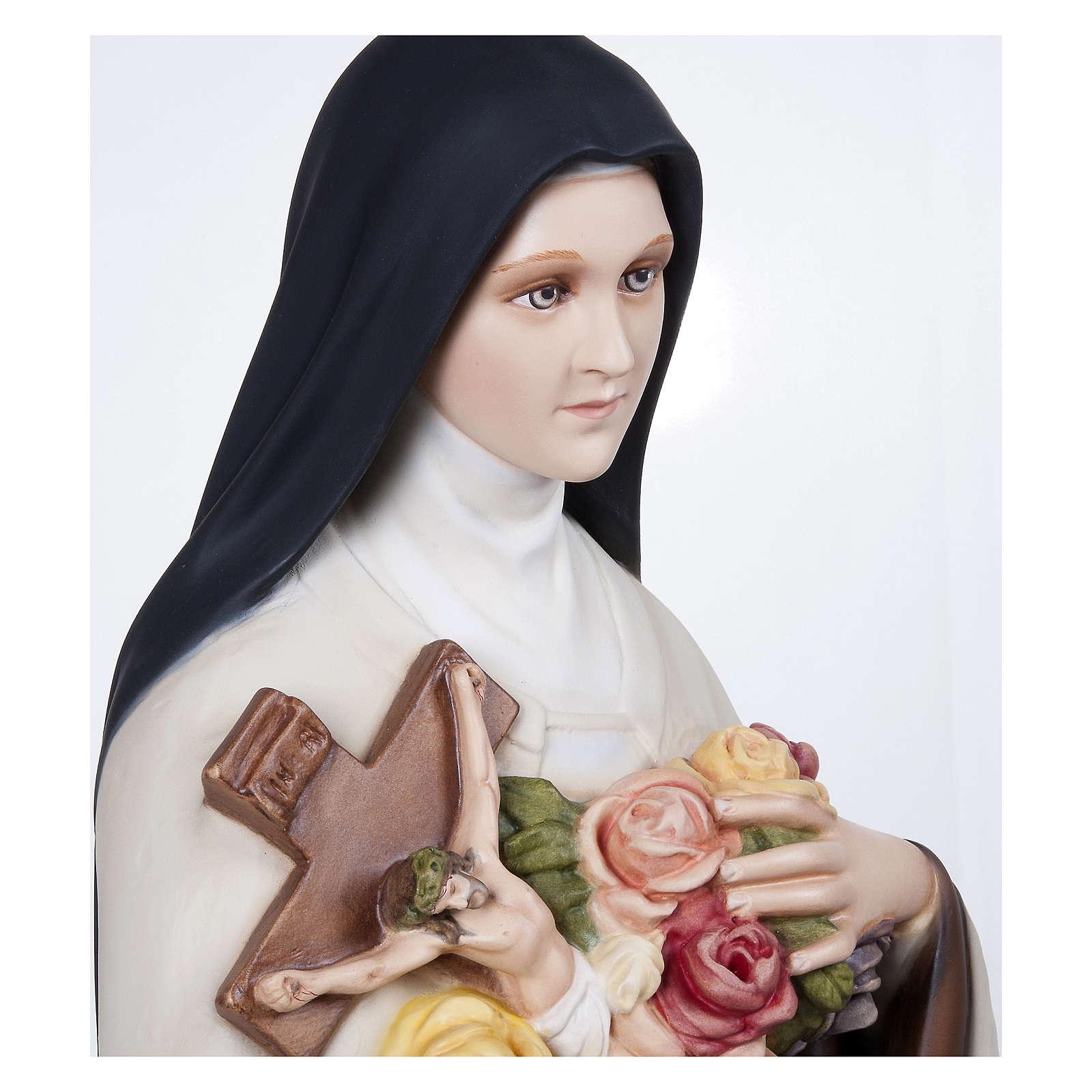 Statua Santa Teresa 100 cm Vetroresina PER ESTERNO 4