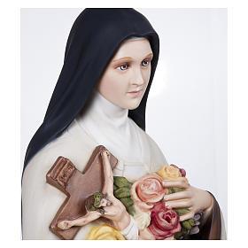 Statua Santa Teresa 100 cm Vetroresina PER ESTERNO s7