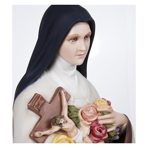 Statua Santa Teresa 100 cm Vetroresina PER ESTERNO 7