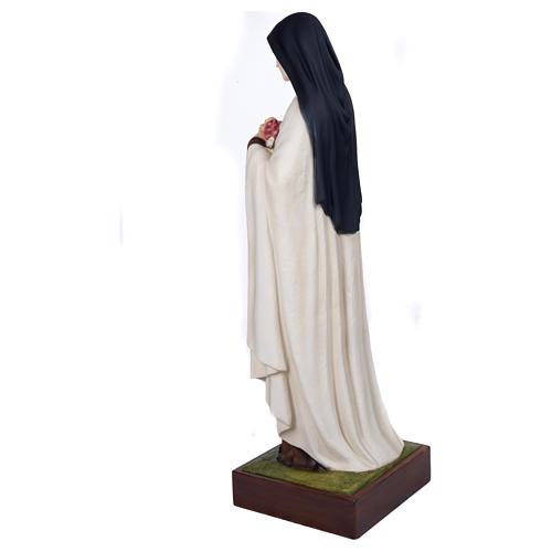 Statua Santa Teresa 100 cm Vetroresina PER ESTERNO 9