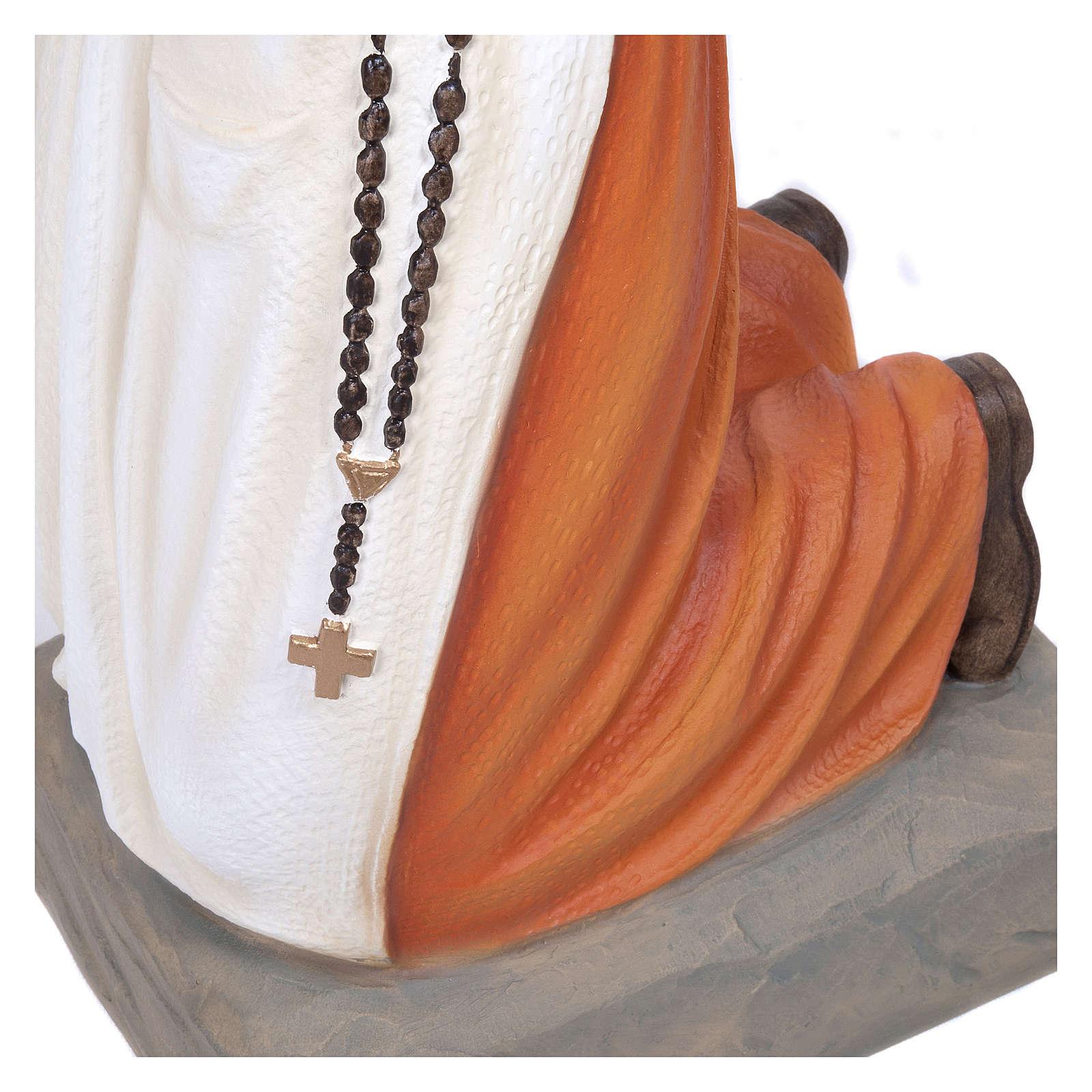 Statua S. Bernadette 50 cm Vetroresina PER ESTERNO 4