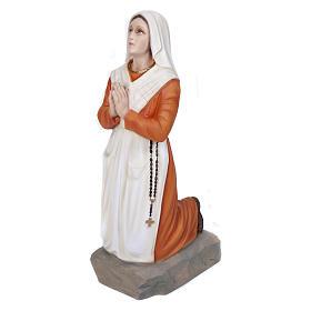 Statua S. Bernadette 50 cm Vetroresina PER ESTERNO s1