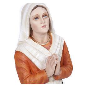 Statua S. Bernadette 50 cm Vetroresina PER ESTERNO s2