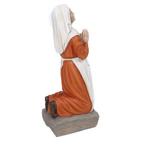 Statua S. Bernadette 50 cm Vetroresina PER ESTERNO s6