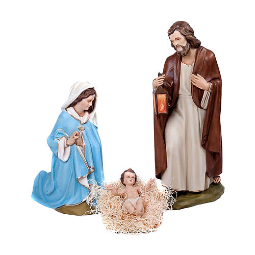 Statue of Nativity Scene in fibreglass 80 cm for EXTERNAL USE 1