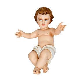 Statue in Vetroresina: Bambinello 40 cm fiberglass PER ESTERNO