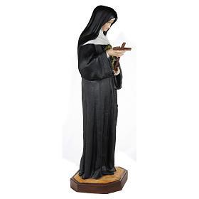 Statua Santa Rita da Cascia 100 cm fiberglass PER ESTERNO s5