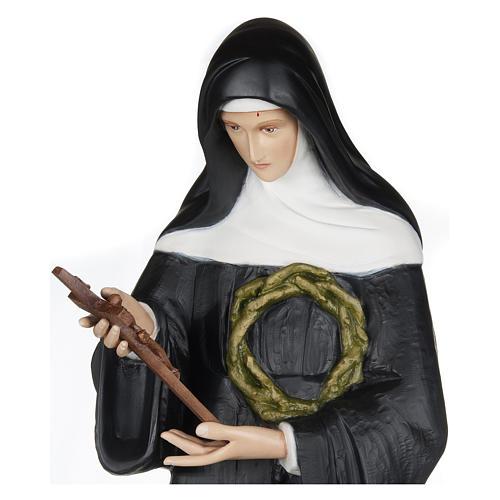 Statua Santa Rita da Cascia 100 cm fiberglass PER ESTERNO 2