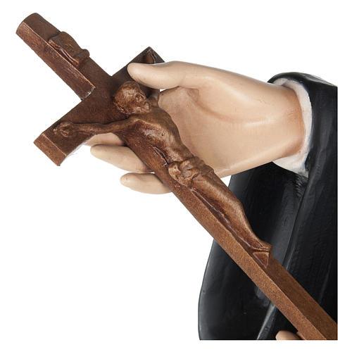 Statua Santa Rita da Cascia 100 cm fiberglass PER ESTERNO 7