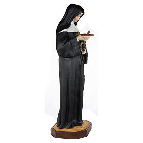 Saint Rita of Cascia Fiberglass Statue 100 cm FOR OUTDOORS s5