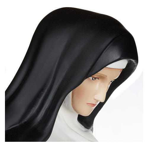 Saint Rita of Cascia Fiberglass Statue 100 cm FOR OUTDOORS 6