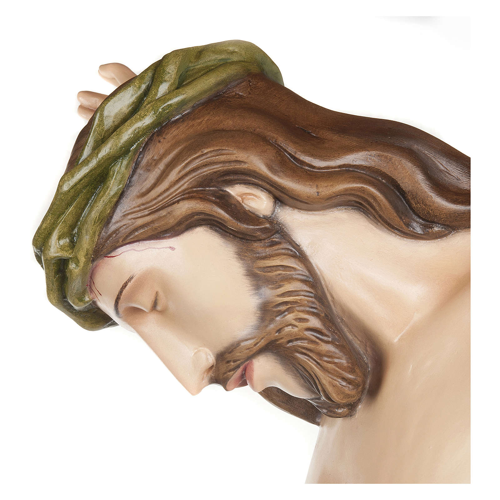 Statue of the Body of Christ in fibreglass 150 cm for EXTERNAL USE 4