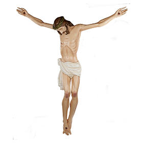 Statue of the Body of Christ in fibreglass 150 cm for EXTERNAL USE s1