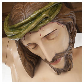 Statue of the Body of Christ in fibreglass 150 cm for EXTERNAL USE s2
