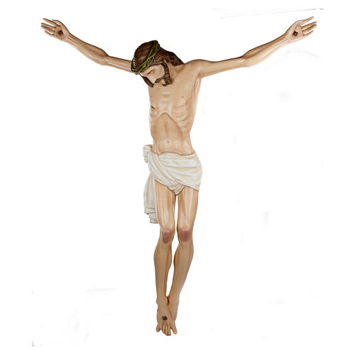Statue of the Body of Christ in fibreglass 150 cm for EXTERNAL USE 1