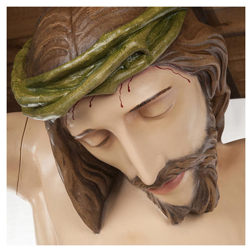 Statue of the Body of Christ in fibreglass 150 cm for EXTERNAL USE 2
