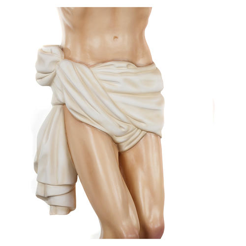 Statue of the Body of Christ in fibreglass 150 cm for EXTERNAL USE 5