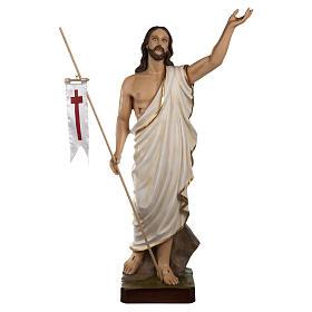 Auferstandener Christus 85cm Fiberglas AUSSENGEBRAUCH s1