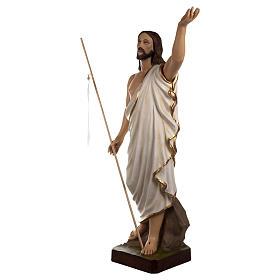 Statua Cristo Risorto fiberglass 85 cm PER ESTERNO s4