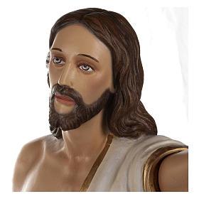 Statua Cristo Risorto fiberglass 85 cm PER ESTERNO s5