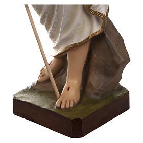 Statua Cristo Risorto fiberglass 85 cm PER ESTERNO s9