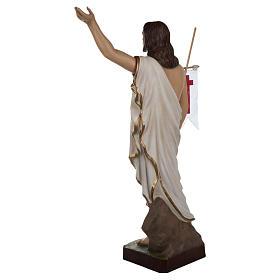 Statua Cristo Risorto fiberglass 85 cm PER ESTERNO s10