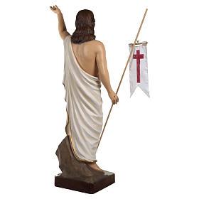 Statua Cristo Risorto fiberglass 85 cm PER ESTERNO s11