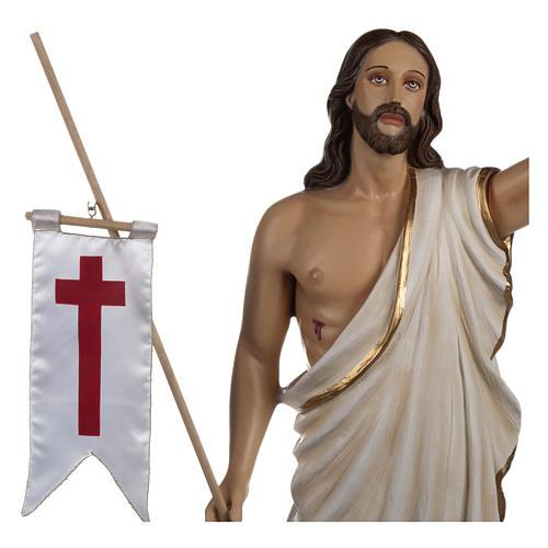 Statua Cristo Risorto fiberglass 85 cm PER ESTERNO 3